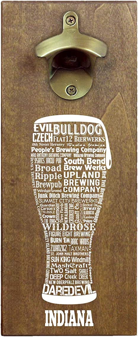 """One of a kind IDAHO CRAFT BEER Typography/"""" t shirt"""