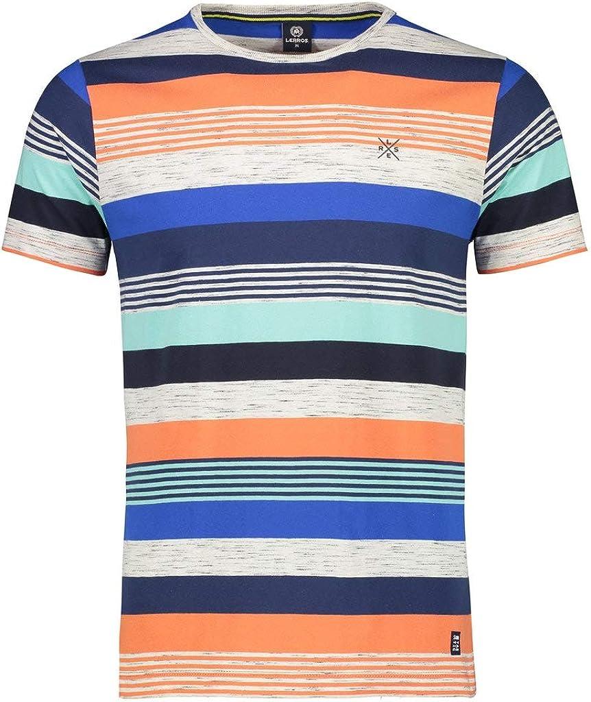 LERROS - Camiseta de manga corta para hombre naranja L: Amazon.es: Ropa y accesorios