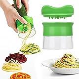 eLander Spiralschneider Set, Gemüsespaghetti Kartoffel, Zucchini, Spargelschäler, Gurkenschneider, Gemüse Spiralschneider