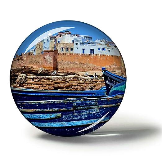 Hqiyaols Souvenir Murallas de Marruecos Essaouira Imanes Nevera ...