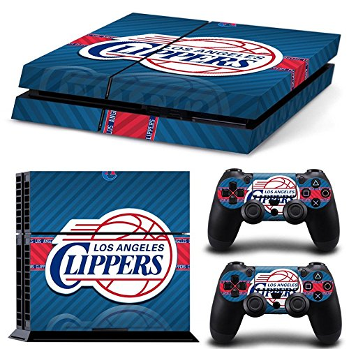 GoldenDeal PS4 Console and DualShock 4 Controller Skin Set - Basketball NBA - PlayStation 4 -