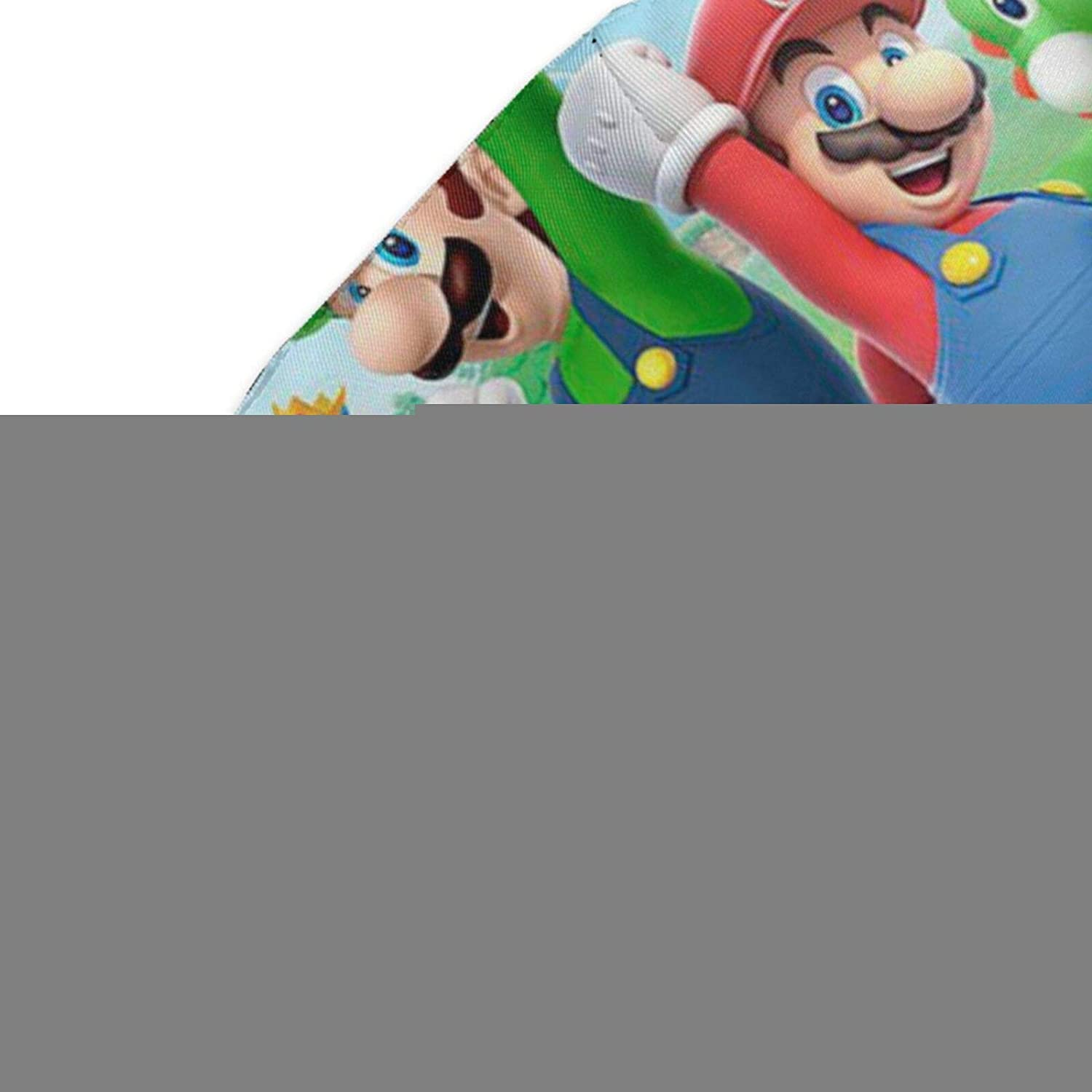 Winter Scarf Men Women Adjustable Super-Mario-Bros-Painting Cute Nose Mouth Face Cover
