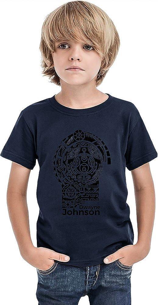 Dwayne Johnson Tattoo Camiseta de los muchachos 12+ yrs: Amazon.es ...