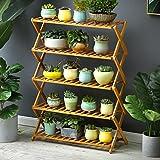 Flower Pot Plant Stand Flower Planter Rack Shelf Shelves Organizer Garden (5 Tiers) For Sale