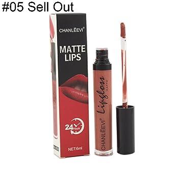 c170018e7185 Amazon.com : Matte Lip Gloss By Maserfaliw, Sexy Matte Liquid ...