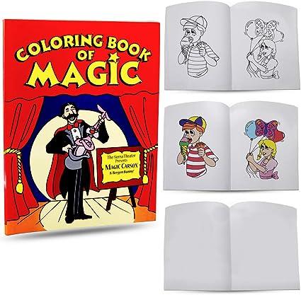 """8/""""x11/"""" AMAZING MAGIC COLORING BOOK"""