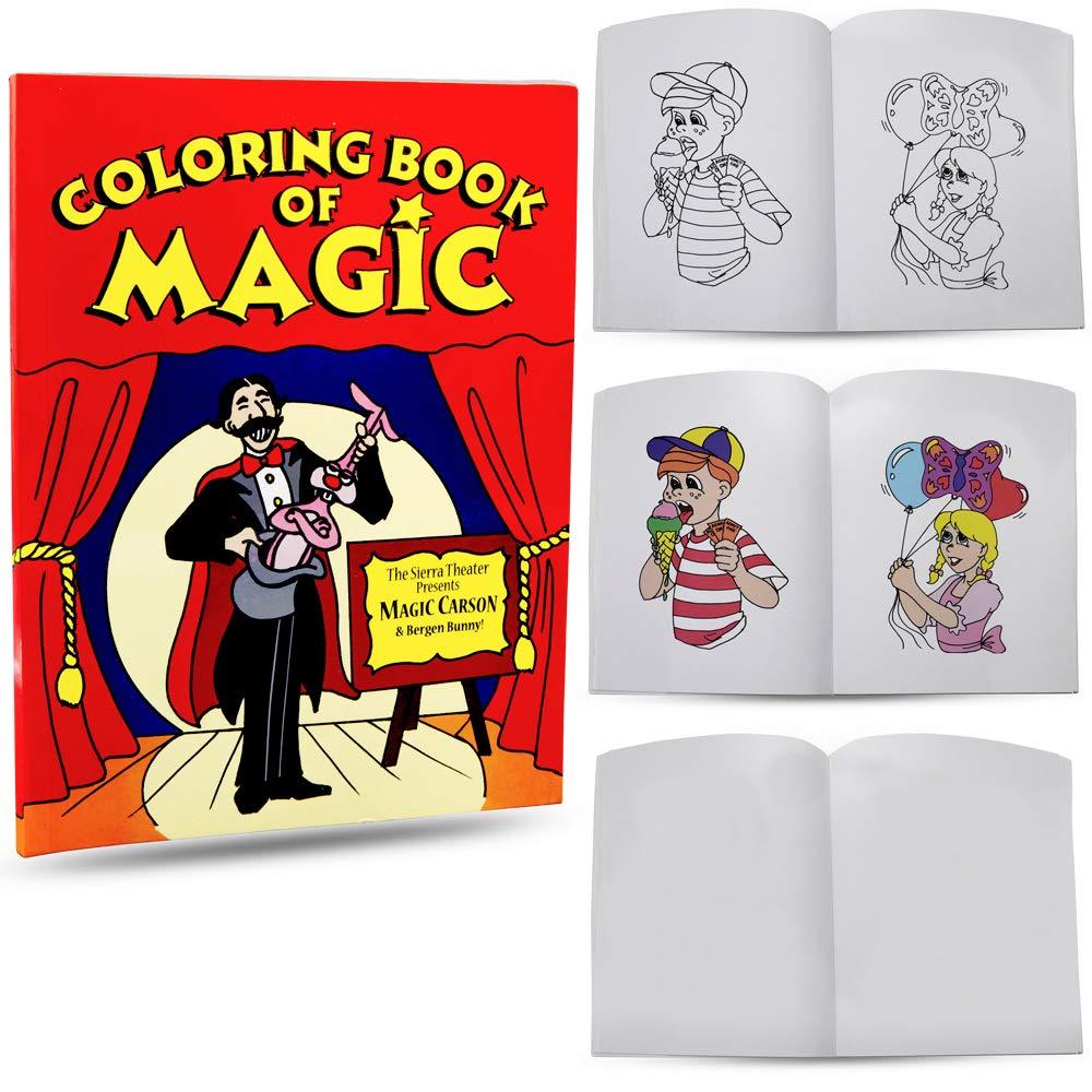 Magic Makers Magic Coloring Book Trick Magicians Choice 8.5 x 11 inches