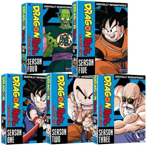 Dragon Ball Complete Series Mega Collection - Includes Dragon Ball Seasons 1-5, Dragon Ball GT Seasons 1-2, and Dragon Ball Z Seasons 1-9 (Over 200 Hours on 89 Discs!)