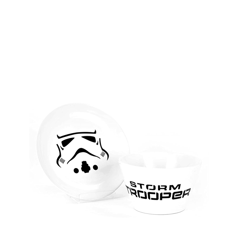 Set Bol et Assiette Stormtrooper Star Wars Kas Design 3887