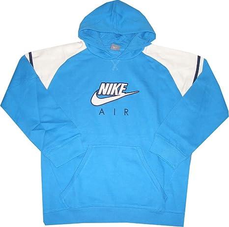 Nike Air Sudadera con capucha de sudadera azul claro de color ...