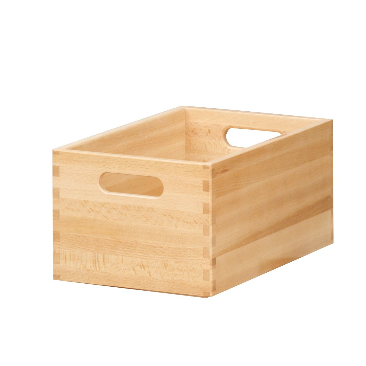 Zeller 13306 - Cajón multiusos de madera de haya barnizada