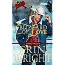 Blizzard of Love: A Western Romance Novella (Long Valley) (Volume 2)