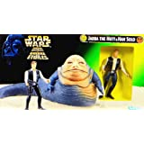 Star Wars Power of the Force Collectors Trilogy Edition Jabba The Hut & Exclusive Hans Solo Boxed Set