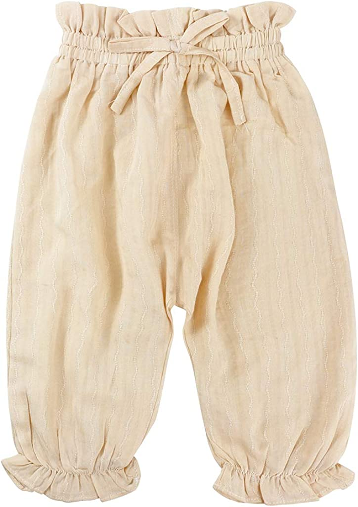 JiAmy Baby Harem Pants Girls Bloomers Infant Long Pants Toddler Trousers 3-36 Months