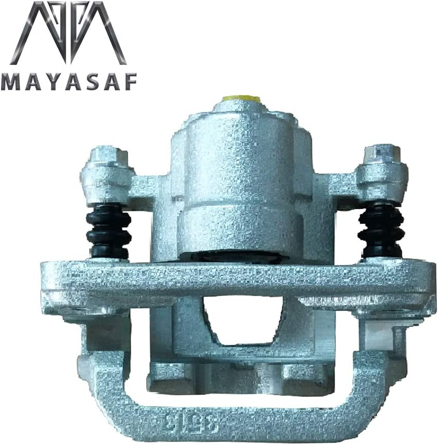 MAYASAF 19B2780 Brand New Rear Left Disc Brake Caliper Driver Side Caliper Assembly Fit 2002-06 /& 2013-15 Nissan Altima 2003-07 Nissan Maxima
