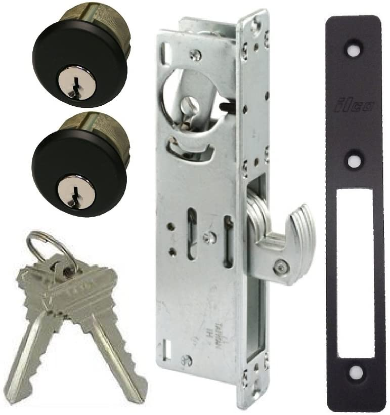 1 Pc Sliding Door Lock Mortise Hook Bolt Lock Sliding Lock Security Door Lock 8C