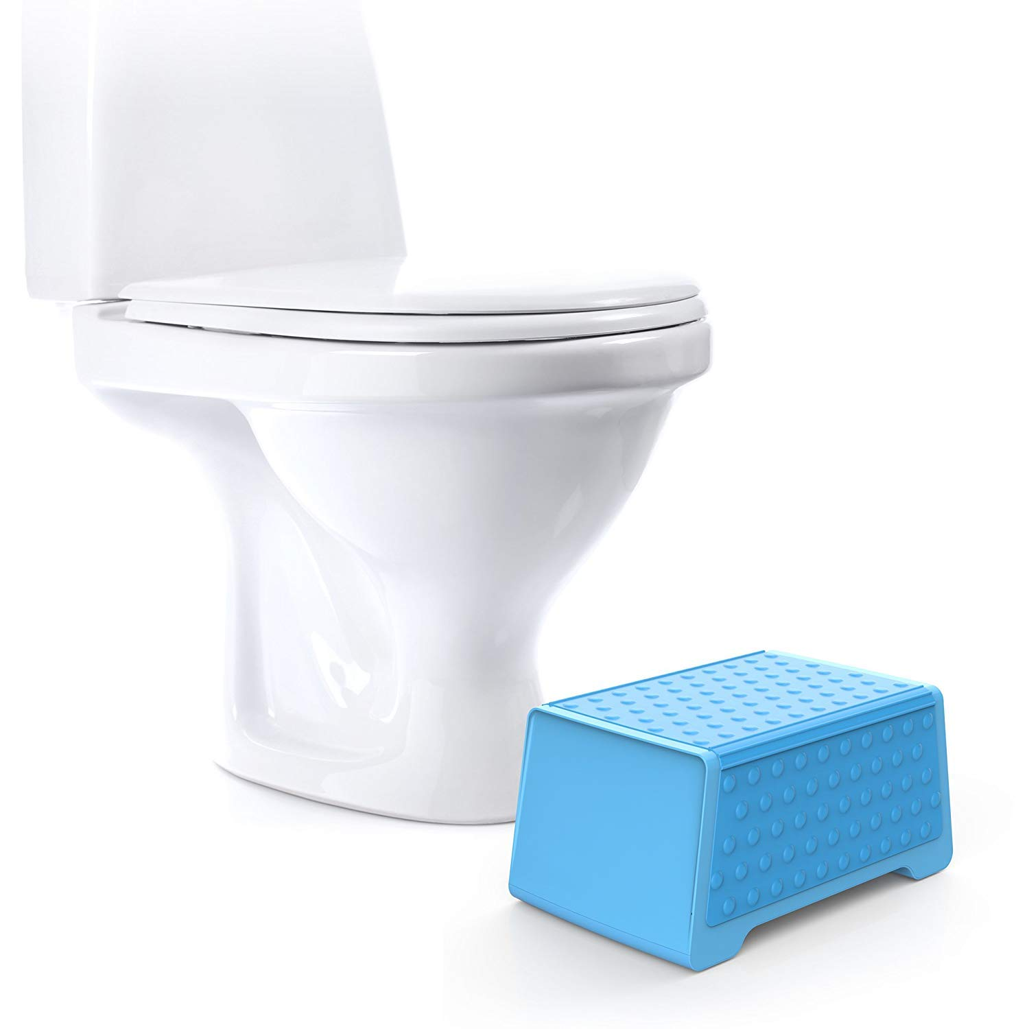 Doctor Designed Bathroom Toilet Stool and Sink Stool for Children - The EasyStool Children's Dual Height Multifunction Stool by Easy Stool