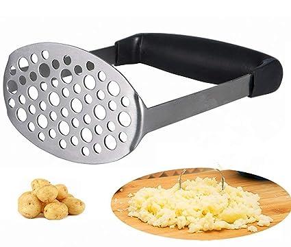 Febbya Prensa de Patata,Patatas para Puré Acero Inoxidable Trituradora de Patata para Batata Banana