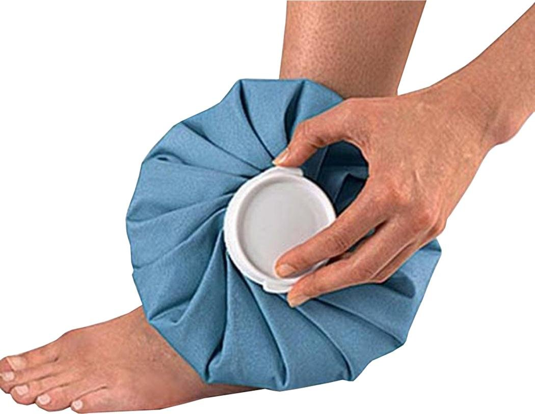 Muscle Injury Knee Head Leg Pain Relief Reusable Fabric Ice Bag by Sportsgear US (Image #1)
