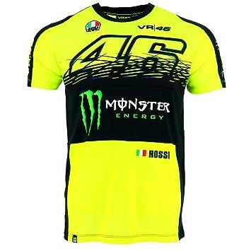 Valentino Rossi Vr46 Moto Gp Monster Energy Replica T Shirt Offiziell 2017