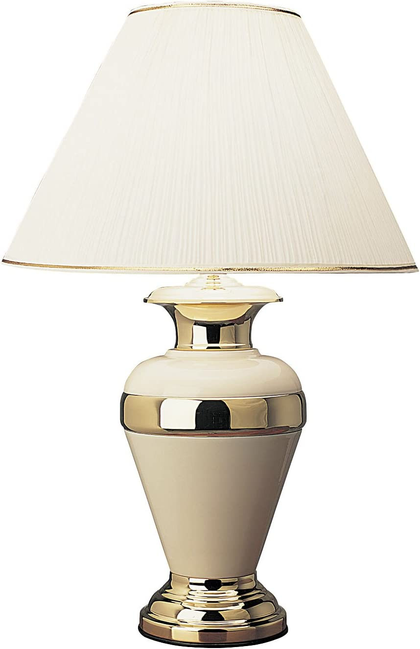 B000CBMTT2 ORE International 6129IV 32-Inch Metal Lamp, Ivory 61PvKgVH7bL