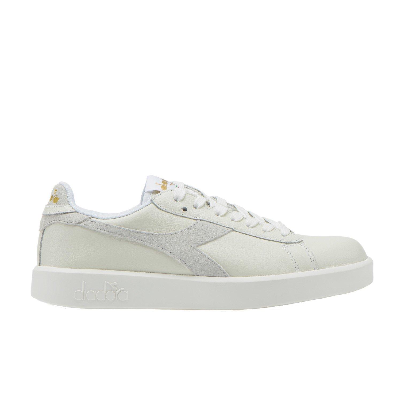 Diadora - Sneakers Game Wide L para Mujer EU 40 - US 7 - UK 6.5 (cm 25)|20006 - Blanco