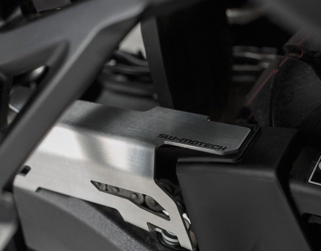 Sw Motech Kettenschutz Erweiterung Silber Crf 1000 L Africa Twin Stück Auto