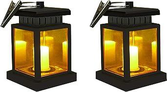 Vela Solar Linterna impermeable LED parpadeante Velas sin llama Jardín al aire libre Colgante Paraguas Farolillos LED Seguridad Luz nocturna Lámpara con clip (Paquete de 2): Amazon.es: Iluminación