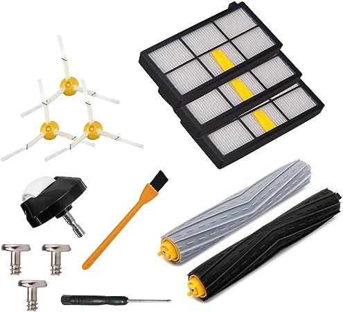 6 confezioni 870, 871, 880, 890, 980 Filtro HEPA per iRobot Roomba Serie 800//900