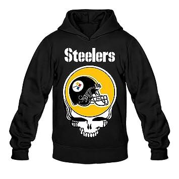 buy online 1e3aa 8ba56 Amazon.com: RABBEAT Men's Hoodies Steeler Pittsburgh ...