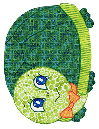 Baby Quilt Patterns, by Kiddie Komfies, Turtle Patchwork Quilt Pattern Boy Girl Quilt Kits Easy 54