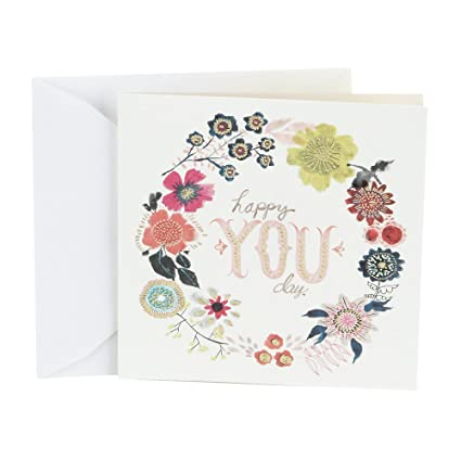 Amazon Hallmark Studio Ink Birthday Card Happy You Day