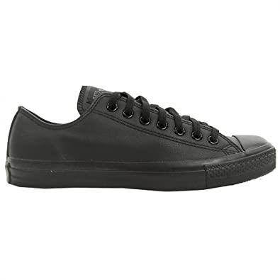 ae92dcedf981 ... free shipping converse 1t865 chuck taylor all star leather low black  7.5 m 9.5 30c03 b228b