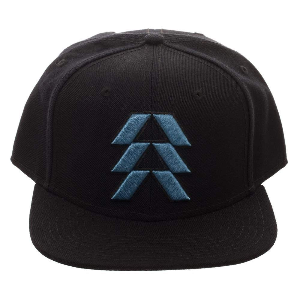 2c5f84fd6fa19 Amazon.com  Bioworld Destiny 2 Hunter Logo Black Adjutable Snapback   Clothing