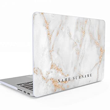 Amazon.com: Carcasa rígida personalizable para MacBook Air ...