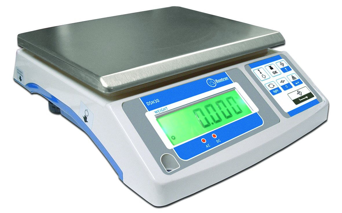 Balanza Digital Industrial Baxtran DSN (6kg x 0,2g) (29x23cm): Amazon.es: Bricolaje y herramientas