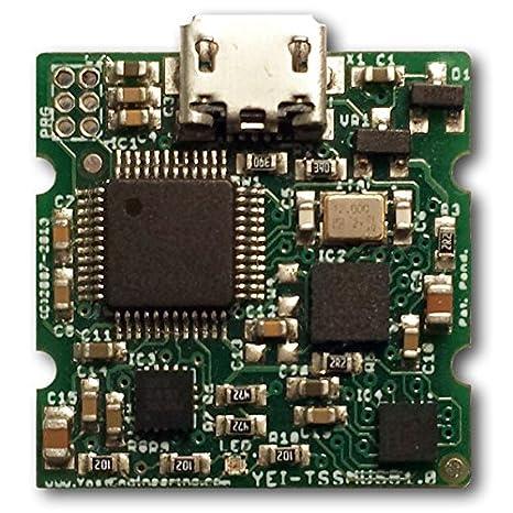Yost Labs 3-axis 9DOF Data-logging High-G Accelerometer Mini IMU//AHRS Handheld