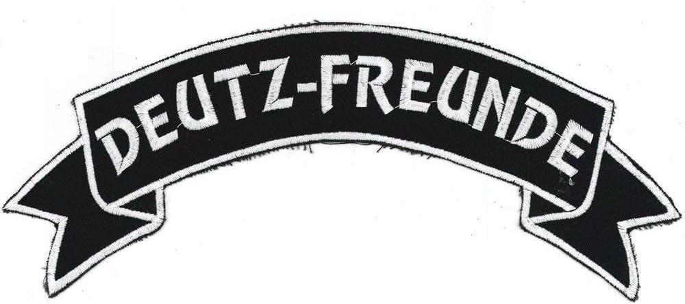 Deutz-Freunde Gr R/ückenaufn/äher ca 07307//1 Patches Stick Applikation 28 x 7 cm