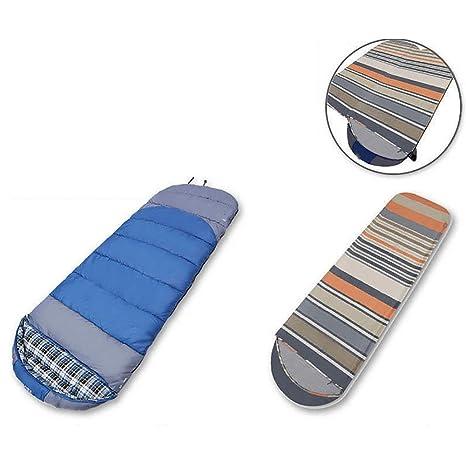 MIAO al aire libre otoño y invierno adulto algodón sobres Camping saco de dormir con maletero