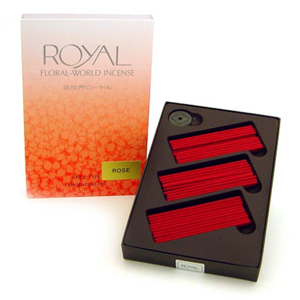 SHOYEIDO Rose Incense - Set of 60 Sticks
