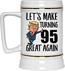 Let's Make Turing 95 Great Again Beer Stein