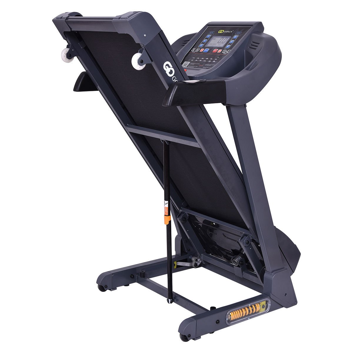 Goplus 2.5HP Folding Treadmill Electric Support Motorized Power Running Fitness Jogging Incline Machine W/APP Control & Shock-Absorption System (New Model) by Goplus (Image #5)