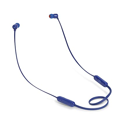 3a144771de3 JBL T110BT Pure Bass Wireless in-Ear Headphones with Mic (Blue): Buy JBL  T110BT Pure Bass Wireless in-Ear Headphones with Mic (Blue) Online at Low  Price in ...