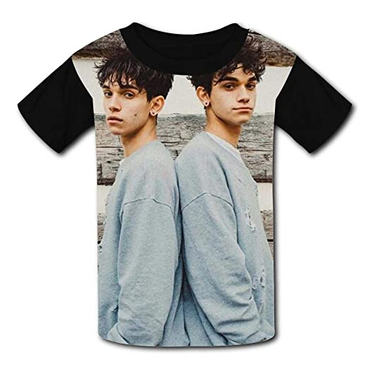 1709529e893a Amazon.com  HEYkidd56 DO Dobre Good Twins Cute Youth T-Shirt Kids Fashion  Short Sleeve Teen Boys Girls  Clothing