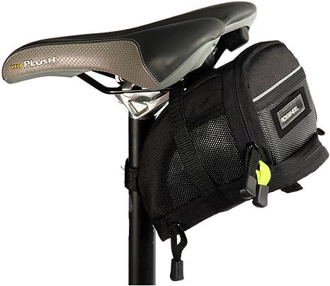 ROSWHEEL Bicicletas cola bolsa Tija asiento Saddle bolso correas ...