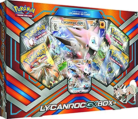 Pokemon TCG: Lycanroc-GX Box Card Game - Special Attack Booster Pack