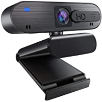 Winchar 1080p Auto Focus Webcam with Microphone & Privacy Shutter