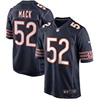 239272369 Outerstuff Youth NFL Chicago Bears  52 Khalil Mack Navy Kids Game Jersey