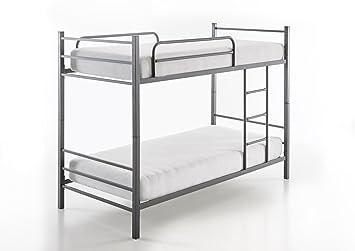 Etagenbett Hochbett Aus Metall : Etagenbett hochbett st aus metall teilbar in einzelbetten x