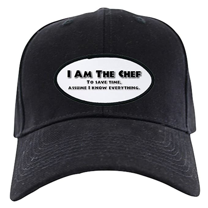 dc6126ad358 Image Unavailable. Image not available for. Color  CafePress - I Am The Chef  - Baseball Hat ...